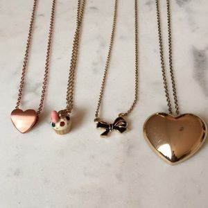 Cute dainty necklaces